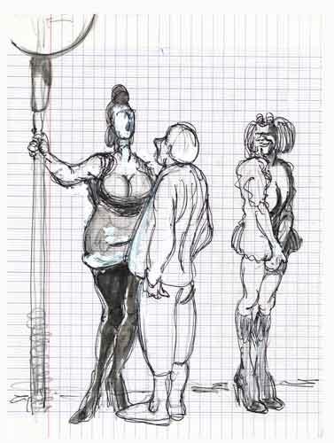 prostitution,prostitution populaire,vie parisienne,vie nocturne,sexualité