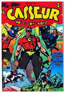 Big Bill le casseur,illustrés pour enfants,justiciers masqués,bd ancienne,bandes dessinées,Mouchott,