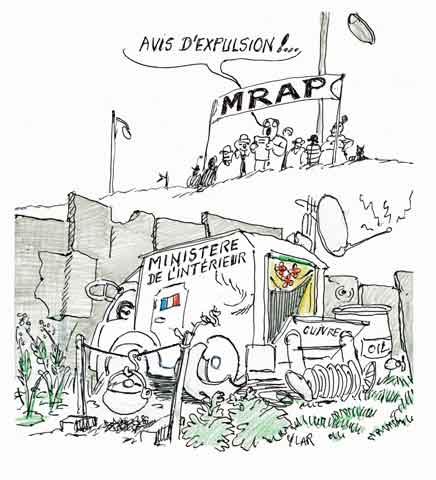 Manuel Valls,Roms,Dominique Bertinotti,MRAP,