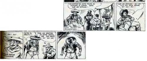 bd,bandes dessinées de collection,doc jivaro,cossio,paris-jeunes aventures,la guerre des boutons,lucette raillat,la môme aux boutons,gabriel bacquier