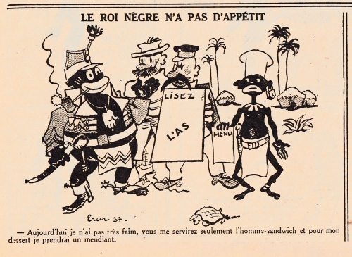 Le roi nègre, L'As,-1938.jpg