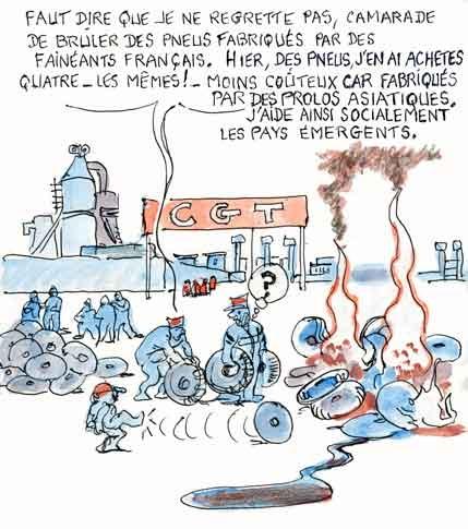 Goodyear,CGT,Amiens,Maurice Taylor,Dunlop,Montluçon,crise économique,