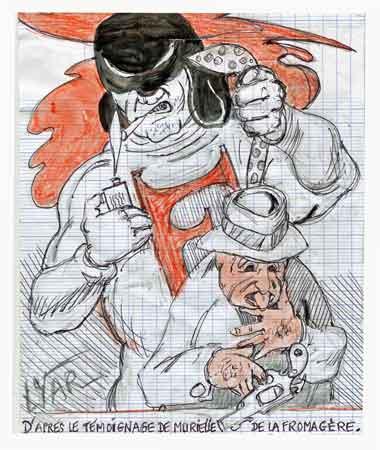 Fantax,Danièle Mouchot,Bob Roc,Pierre Mouchot,BD,bandes dessinées anciennes,éditions Rhodaniennes,illustrés pour enfants,