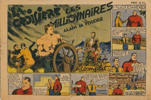 alain la foudre,jumbo 1938,carlo cossio,bandes dessinées de collection,tarzanides du grenier,doc jivaro,bar zing de montluçon