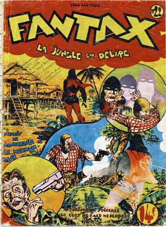 Fantax,H. Foster,Marcel Navaro,péripatéticienne,atelier Noucot,BD,bandes dessinées anciennes,