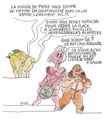 Frigide Barjot,Basile de Koch,RIVP,HLM,Manif pour tous,Hidalgo,Bertrand du Déclin,Bertrand Delanoé,Mairie de Paris