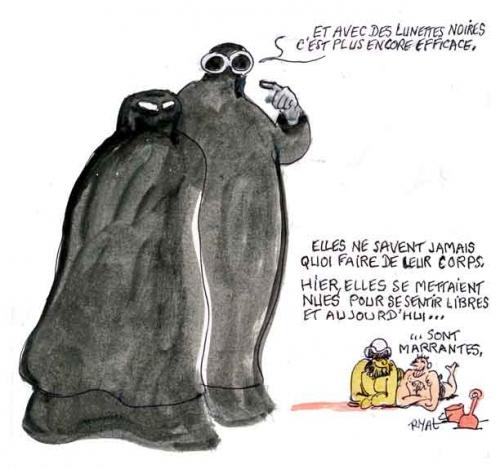 niqab,port du voile,uv,ultra violets,rites religieux,intégrisme religieux