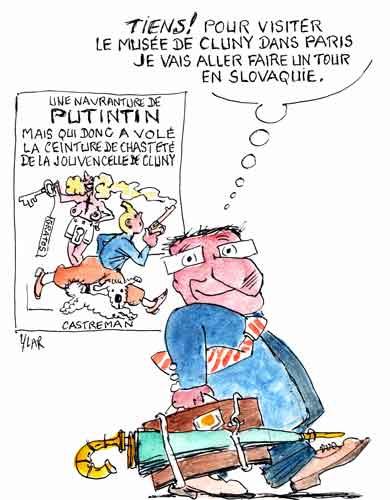 Hollande,Slovaquie,Bratislava,Musée de Cluny,crise fiscale,écotaxe,cote de popularité