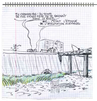 écologie,qualité de l'eau,Montluçon,pollution,