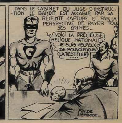 le casseur 1949,le crane de cristal.tom-tom,bd,bandes dessinées de collection,hogarth,foster,alex raymond,tintin,maurice besseyrias,rmc,pierre mouchot