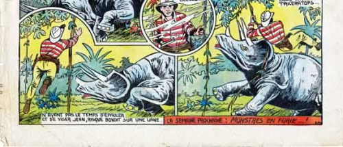 gorinne,le petit luron,marijac,foster,hogarth,coq hardi,jules barigoule,tarzan,pierrot,bd,bandes dessinées anciennes