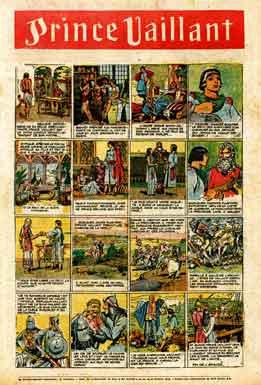 tarzan,prince vaillant,prince valiant,harold foster,journal de mickey,hop la!,bandes dessinées de collection,bd,l'éclaireur de nice et du sud est