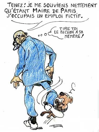 Chirac,alzheimer,emplois fictifs