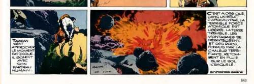 rubimor,tchernobyl,editions soleil,spirou 1947,bd,bandes dessinées de collection,michel decuyper,tribune des amis d'edgar rice burroughs