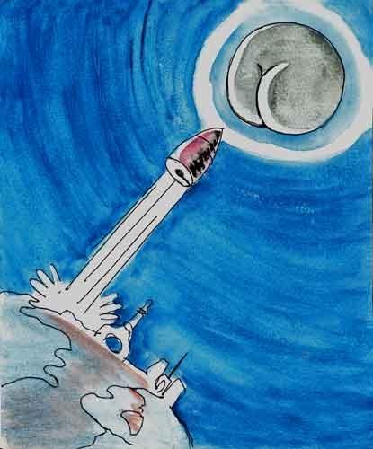 georges Méliès,voyage dans la Lune,cinéma,jules Verne,science fiction,