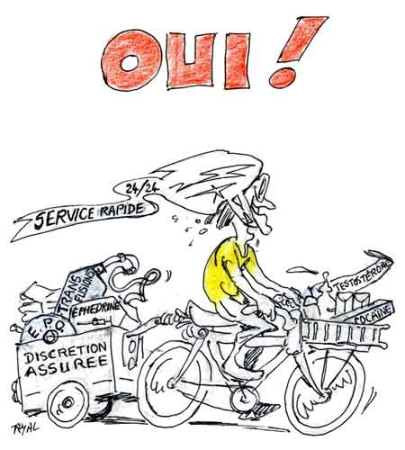Tour de france bar zing - Dessin cycliste humoristique ...