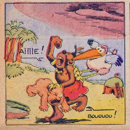 pim,pam,poum,capitaine cocorico,mickey 1935,paul winkler,bd,bandes dessinées de collection,donald,l'intrépide 1951,knerr