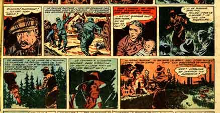 BD,bandes dessinées de collection,Coq Hardi,Poïvet,Marijac,Oradour-sur-Glane,Montluçon,Carrière des Grises,