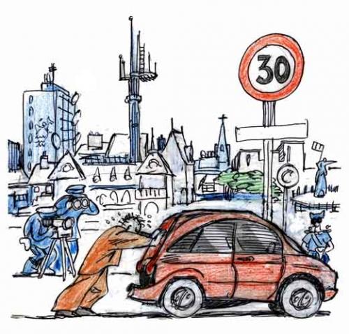 automobilistes,limitation de vitesse,code de la route