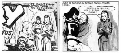 fantax,chott,bd anciennes,bandes dessinées,éditions del duca,illustrés pour enfants