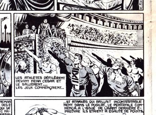mon journal,yak bd,j-k melwyn-nash,cinémonde,leni riefenstahl,les dieux du stade,bandes dessinées de collection,tarzanides du grenier,doc jivaro,bar zing de montluçon