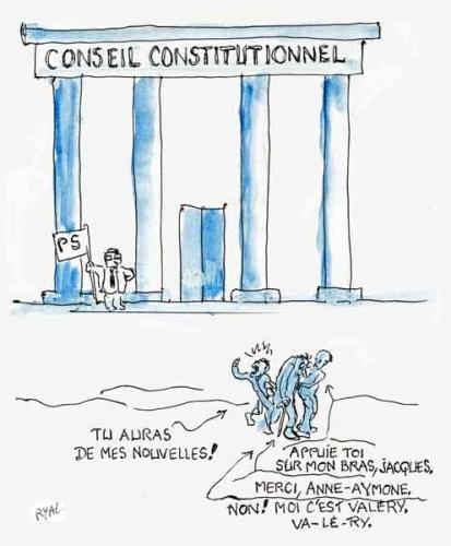 Conseil Constitutionnel,Jacques Chirac,Valery Giscard d'Estaing,maison de retraite,anciens présidents de la République,