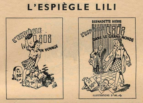 tarzanides du grenier,bandes dessinées anciennes,lili l'espiègle,société parisienne d'Éditions,aventures de miki,buster brown,fillette,correction corporelle,jo valle,doc jivaro,bar zing,famille offenstaldt