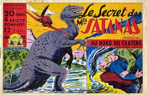 Coq Hardi,Marijac,Liquois,Jean d'Alvignac,Satan,Satanas,Satar,Satanax,bandes dessinées de collection,