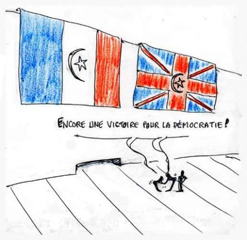 sarkozy,libye,cameron,Bernard henri Lévy