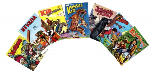 bd youpi,bd colorado,bd névada,bd oklahoma,bd arizona,bandes dessinées de collection,bandes dessinées anciennes,tarzanides du grenier,doc jivaro