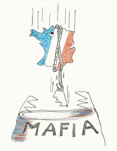 carsican mafia,manuel valls,crime organisé,politiciens et affairistes,Badinter,Taubira,