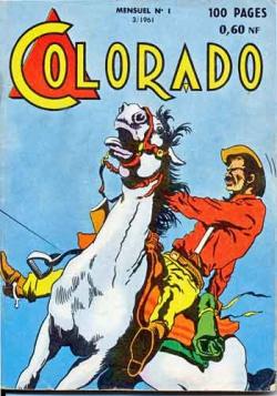 Colorado,Big Bill le casseur,illustrés pour enfants,justiciers masqués,bd ancienne,bandes dessinées,Mouchott,