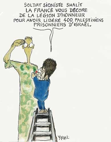 Israël,Palestine,affaire Gilad Shalit,libération Shalit