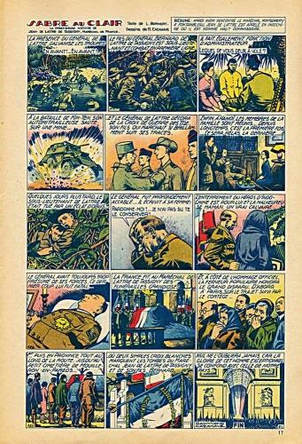 de lattre de tassigny,capitulation allemande 1945,bd cazanave,l'intrépide,bandes dessinées de collection,marijac,7 mai 1945 reims,8 mai 1945