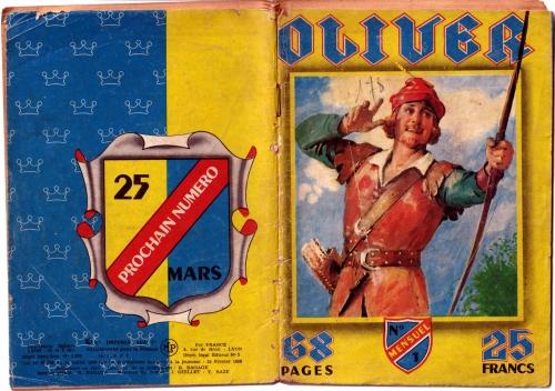 oliver bd,Éditions impéria,lui filipacchi,normands et anglais,bandes dessinées de collection,bar zing,doc jivaro,tarzanides