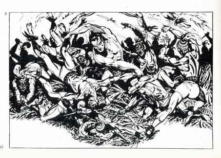 bandes dessinées,BD,Tarzan,Tarzanides,Marijac,Pellos,Coq Hardi,l'épatant,Jacovitti,