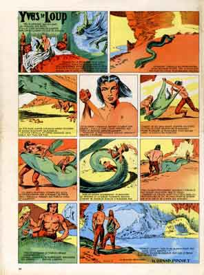 bd,bandes dessinées de collection,vaillant,lescureux,yves le loup,rené bastard,pension radicelle,pelluçidar,tarzan,e.r. burroughs