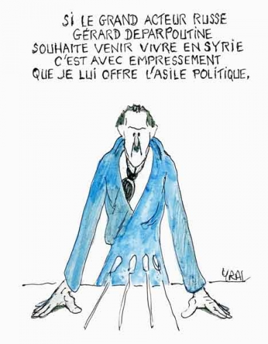 Bachar Al-Assad,gérard Depardieu,Syrie,Damas,complot syrien,Proche Orient, guerre civile syrienne