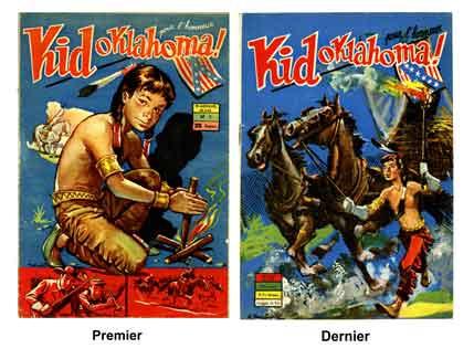 bd,bandes dessinées de collection,kid oklahoma paparella,pecos bill,einszatzgruppen,mike fink,Éditions périodiques illustrées,guerre de sécession,char sherman