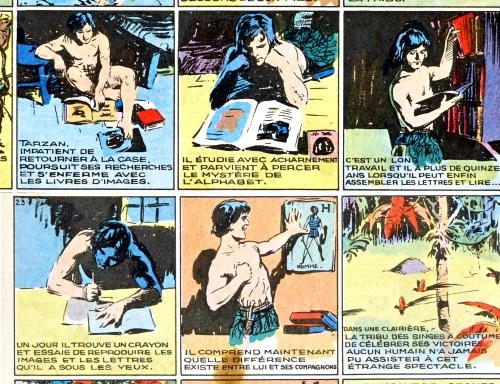 Tarzan,Loi de juillet 1949,Ciné Classique,Weissmuller,Lex Barker,Herakles,Bandes dessinées anciennes,Bar Zing de Montluçon,Tarzanides du Grenier,Doc Jivaro