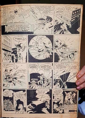 Batman,Bob Kane,Cat Woman,Brantonne,L'Astucieux Bédé,Tarzan,bandes dessinées de collection,bar zing de montluçon,tarzanides,doc jivaro