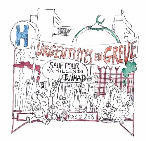 urgences en grève,agnès buzyn,djihadistes rapatriés,mariedosé,aurélien accart,etat islamique,samia makouf,salafisme,merah,latifa ibn ziaten