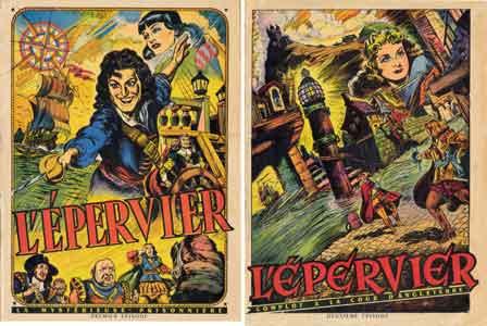 bd,bandes dessinées de collection,rené brantonne,cossio,editions mondiales,del duca,capitaine épervier