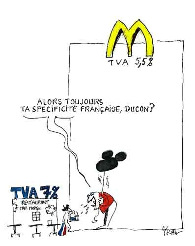mac donald,mac do,restauration,restauration rapide,tva