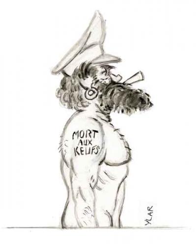 fo,force ouvrière,police,barbe et tatouages,droit de grève,droit de retrait