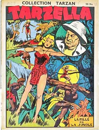 Tarzan,Tarzella,BD,BD anciennes,collection Tarzan,