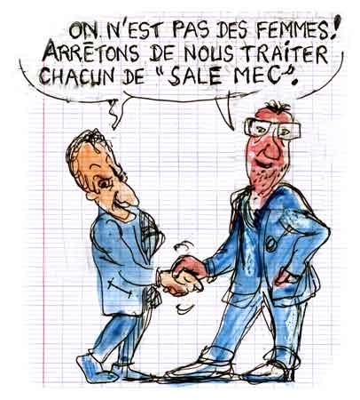 Nicolas Sarkozy,François Hollande,candidatures présidentielles 2012,PS,UMP