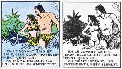 Tarzan,Tarzanide,Jane,Rex Maxon,BD,BD anciennes,éditions Del Duca,