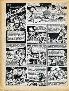 burnout,Krômagoul,Auguste Liquois,Mortac,Tim l'Audace,editeur Artima,BD.bandes dessinées de collection,bandes dessinées anciennes