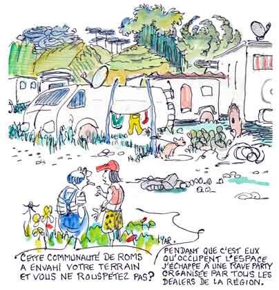 Guérandes,Roms,chrétiens méthodistes,rave party,guerandes mairie,démission maire,gens du voyage,